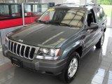 2002 Onyx Green Pearlcoat Jeep Grand Cherokee Laredo 4x4 #50502140