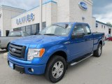 2010 Blue Flame Metallic Ford F150 STX SuperCab 4x4 #50501887