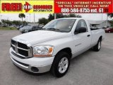 2006 Bright White Dodge Ram 1500 SLT Regular Cab #50502173