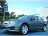 2011 Steel Blue Metallic Ford Fusion SE #50549540