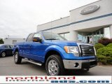 2011 Blue Flame Metallic Ford F150 XLT SuperCab 4x4 #50549455