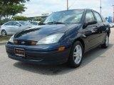 2003 Twilight Blue Metallic Ford Focus SE Sedan #50549485