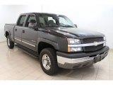 2003 Dark Gray Metallic Chevrolet Silverado 1500 LS Crew Cab #50549938