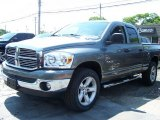 2008 Mineral Gray Metallic Dodge Ram 1500 Big Horn Edition Quad Cab 4x4 #50549954