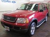 2003 Redfire Metallic Ford Explorer XLT 4x4 #50549964