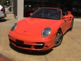 2008 Guards Red Porsche 911 Turbo Cabriolet #50549968