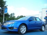 2011 Blue Flame Metallic Ford Fusion SE #50549524