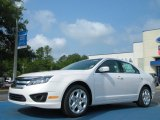 2011 White Platinum Tri-Coat Ford Fusion SE #50549529