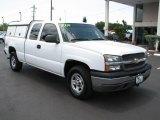 2004 Summit White Chevrolet Silverado 1500 Z71 Extended Cab 4x4 #50550009