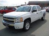 2011 Summit White Chevrolet Silverado 1500 LT Crew Cab #50601345