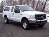 2004 Oxford White Ford F250 Super Duty XL SuperCab 4x4 #5054718