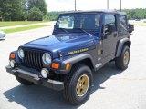 2006 Midnight Blue Pearl Jeep Wrangler Sport 4x4 Golden Eagle #50601357