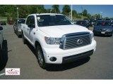 2010 Super White Toyota Tundra Limited CrewMax 4x4 #50600795