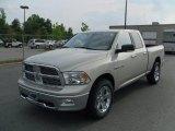 2010 Bright Silver Metallic Dodge Ram 1500 Big Horn Quad Cab 4x4 #50601392