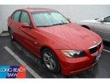 2008 Crimson Red BMW 3 Series 328i Sedan #50601082