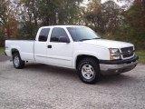 2003 Summit White Chevrolet Silverado 1500 LS Extended Cab 4x4 #5054690