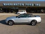 2011 Ingot Silver Metallic Ford Mustang V6 Premium Convertible #50601137