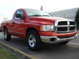 2005 Flame Red Dodge Ram 1500 ST Regular Cab #50600844