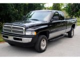 2001 Black Dodge Ram 1500 SLT Club Cab 4x4 #50601019
