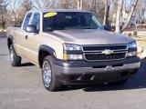 2006 Sandstone Metallic Chevrolet Silverado 1500 LS Extended Cab 4x4 #5054723