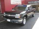 2004 Black Chevrolet Silverado 1500 Z71 Extended Cab 4x4 #50601168
