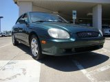2001 Cypress Green Hyundai Sonata GLS V6 #50601287