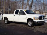 2006 Bright White Dodge Ram 1500 SLT Quad Cab 4x4 #5054721