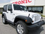 2011 Bright White Jeep Wrangler Sport S 4x4 #50648990