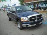 2006 Patriot Blue Pearl Dodge Ram 1500 ST Quad Cab #50649007
