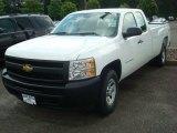 2011 Summit White Chevrolet Silverado 1500 Extended Cab 4x4 #50648725