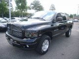 2004 Black Dodge Ram 1500 Laramie Quad Cab 4x4 #50649172