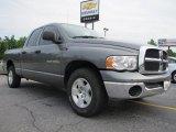 2005 Mineral Gray Metallic Dodge Ram 1500 SLT Quad Cab #50649045