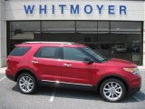 2011 Red Candy Metallic Ford Explorer XLT 4WD #50649233