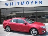 2011 Red Candy Metallic Ford Fusion SE #50649245