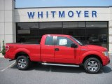 2011 Race Red Ford F150 STX SuperCab 4x4 #50649248