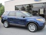 2011 Kona Blue Metallic Ford Explorer XLT 4WD #50649253