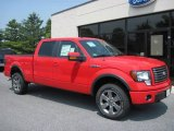 2011 Race Red Ford F150 FX4 SuperCrew 4x4 #50649254