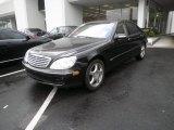 2004 Black Mercedes-Benz S 600 Sedan #50649404