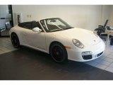 2012 Carrara White Porsche 911 Carrera GTS Cabriolet #50649096
