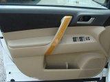 2010 Toyota Highlander Hybrid 4WD Door Panel