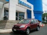 2007 Tango Red Pearl Honda CR-V LX 4WD #50690842