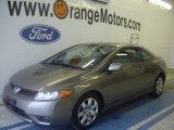 2006 Galaxy Gray Metallic Honda Civic LX Coupe #50690412