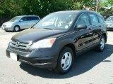 2010 Crystal Black Pearl Honda CR-V LX AWD #50690859