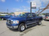 2008 Electric Blue Pearl Dodge Ram 1500 Big Horn Edition Quad Cab 4x4 #50690426