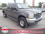 Dark Shadow Grey Metallic Ford F250 Super Duty in 2003