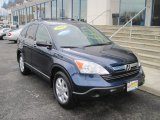 2008 Royal Blue Pearl Honda CR-V EX 4WD #50690793