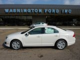 2011 White Suede Ford Fusion SE #50690442