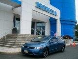 2007 Atomic Blue Metallic Honda Civic EX Coupe #50690591