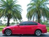 2008 Crimson Red BMW 3 Series 328i Sedan #50690334