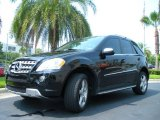 2009 Mercedes-Benz ML Obsidian Black Metallic